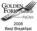 2008 Golden Fork Award for Best Breakfast
